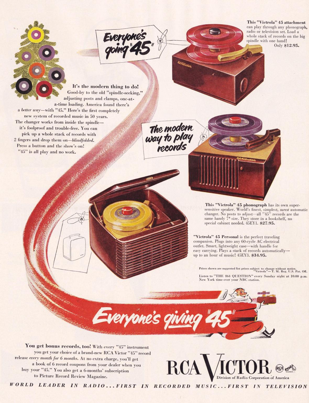 RCA Victor - 1950