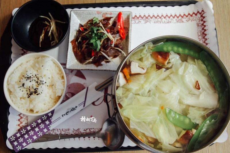 22|塔塔加遊客中心的午餐(素食火鍋)