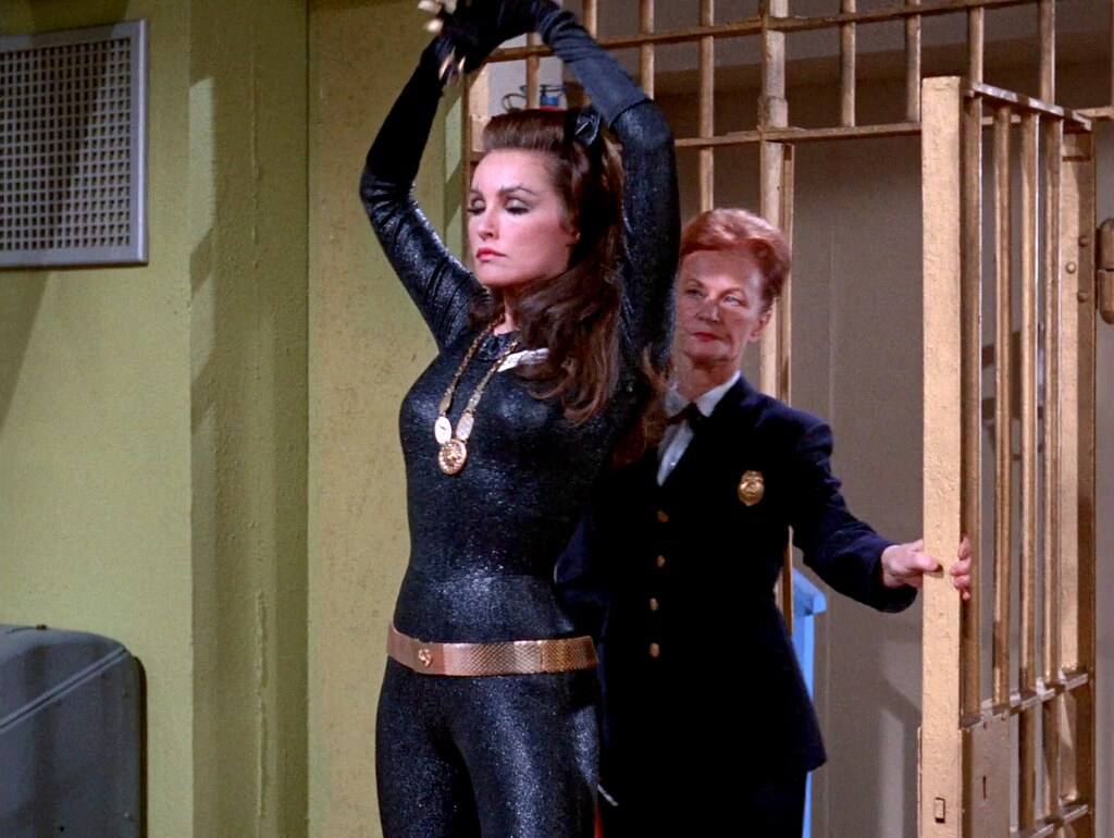 Julie Newmar As Catwoman In Catwoman Goes To College 24