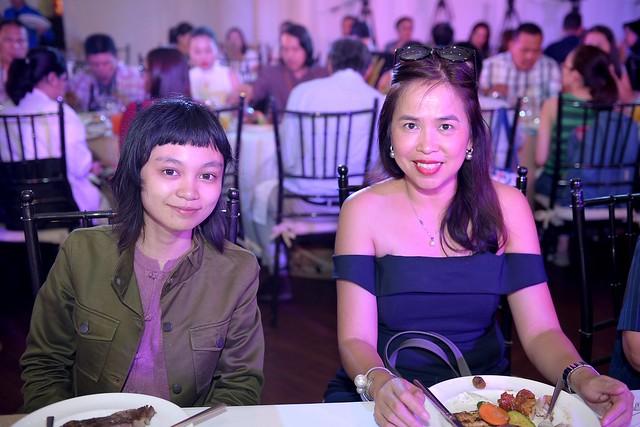 Nigella in Manila luncheon