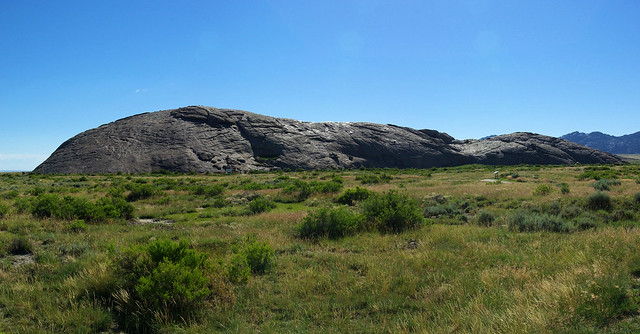 Independence Rock, Wyoming, July 12, 2010
