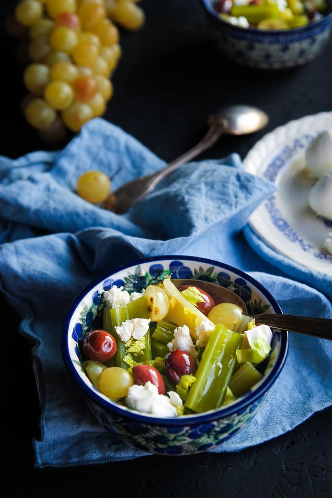 Salade de céleri recette