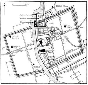 DOC11414155  Schematic plan of the inner city of Babylon… | Flickr