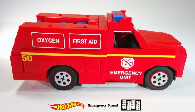 Emergency Squad Lego MOC 6 of 11