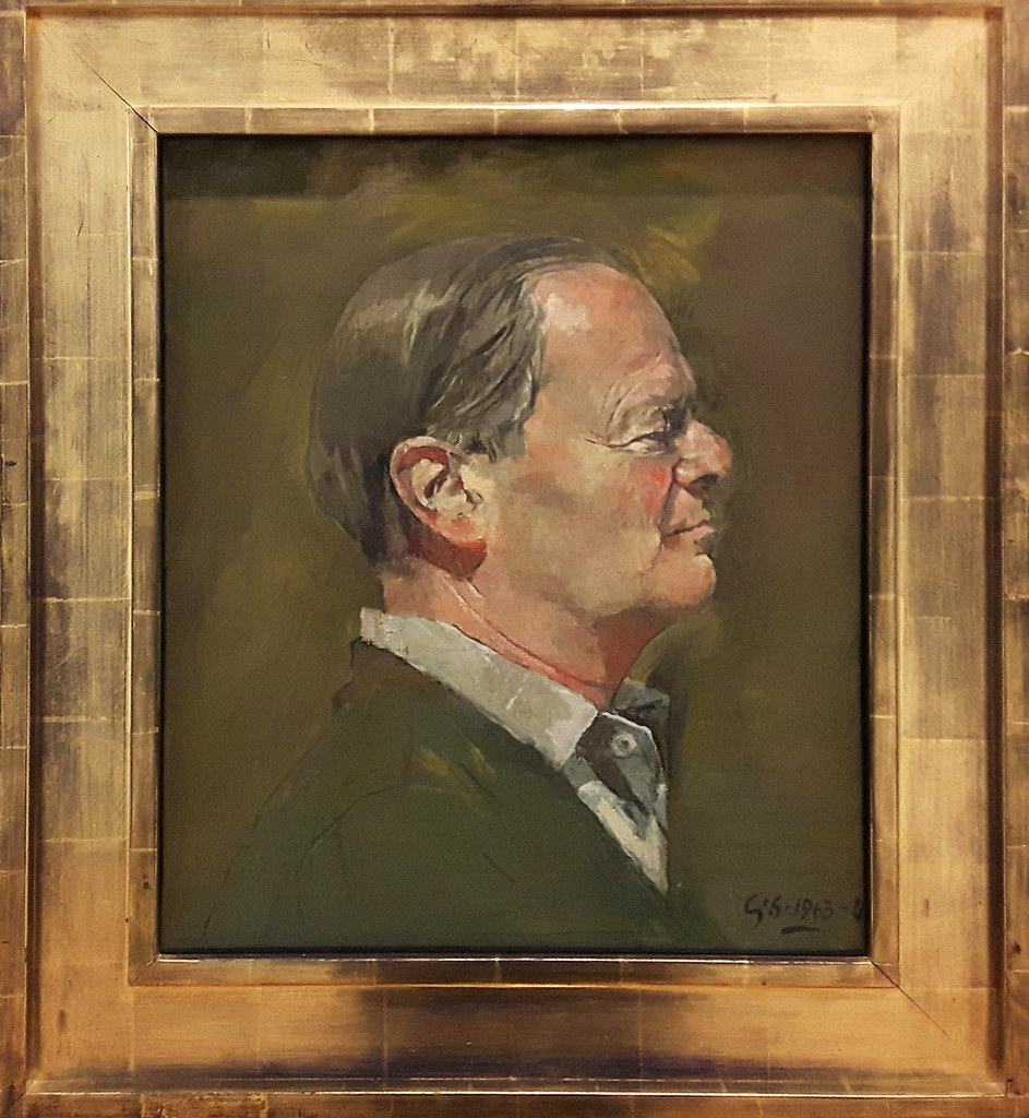 Sir Kenneth Clark by Graham Sutherland  Last Saturday we ma  Flickr