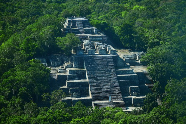 Visita a Calakmul