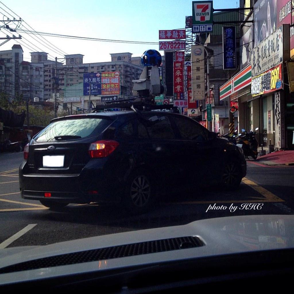 捕獲野生谷歌街景車 Google street view car #Google#maps#street#view#… | Flickr