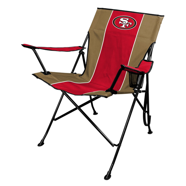 49ers camping chair target baby and table san francisco tailgate folding
