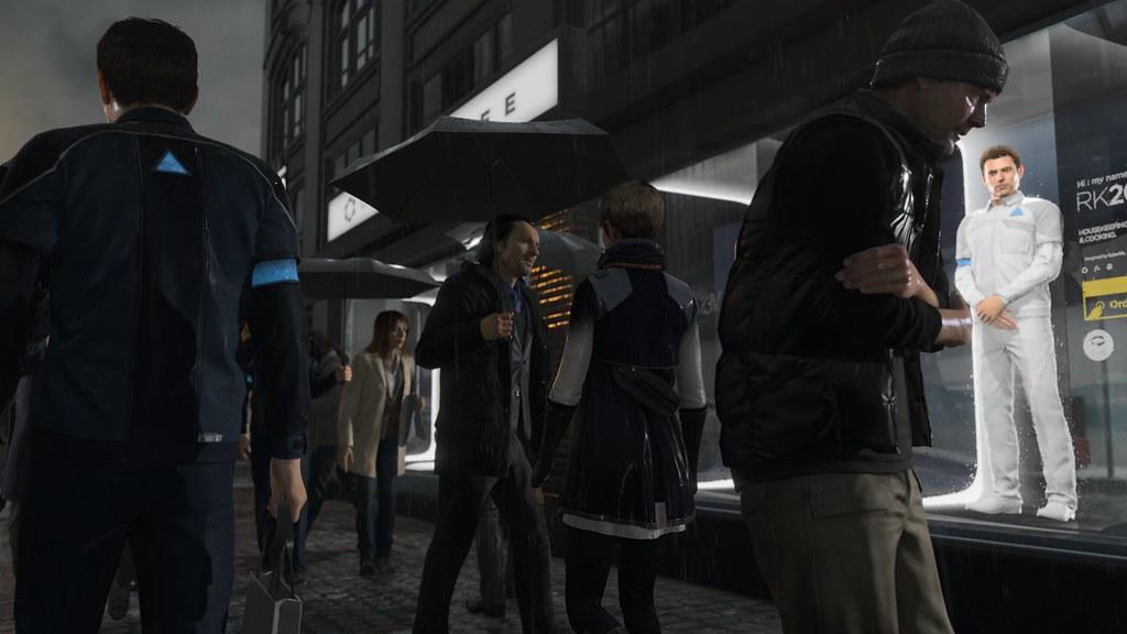 Quantic Dream Announced Detroit: Become Human 1