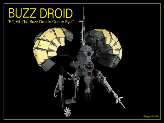 lego star wars buzz droid instructions