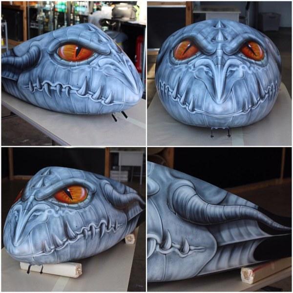 Airbrush Dragon Artwork