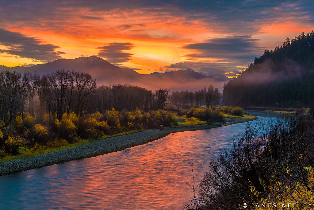 Fall October Wallpaper Snake River Sunrise The Weather Man Said Morning Fog In