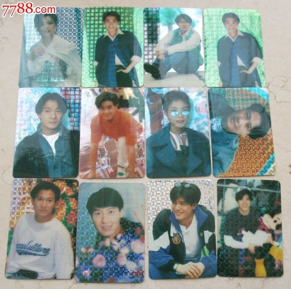 Idol cards once ruled the black market. Credit: 7788.com