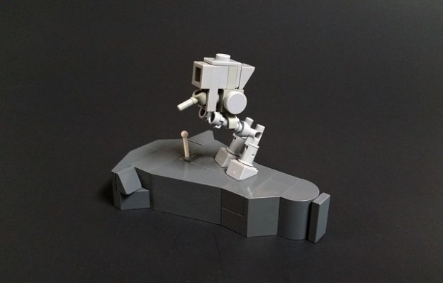 Microscale LEGO AT-ST