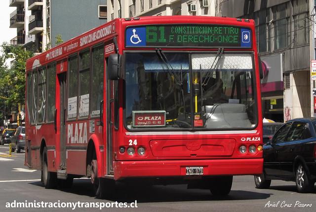 Buenos Aires 61 | Plaza | Tatsa Puma D12 / IND979