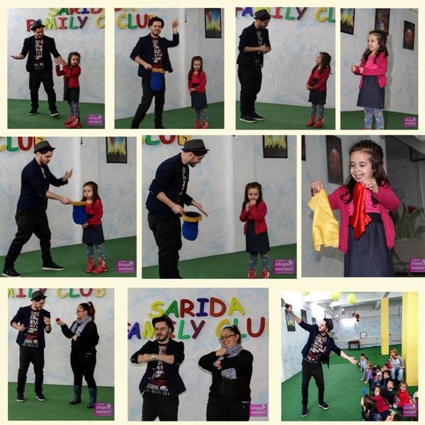 spectacol magie, magician, teo magic show, sarida kids club