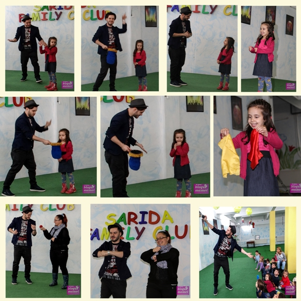 spectacol magie, magician, teo magic show, sarida kids club