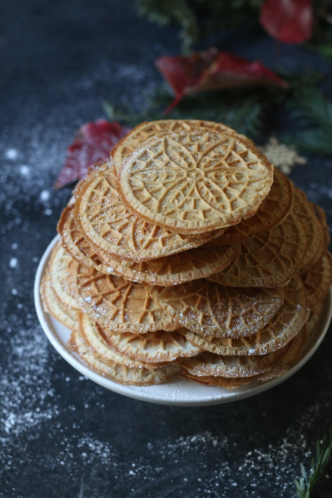Pizzelle- Brown Butter-Almond Pizzelle