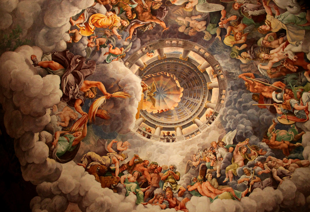 Fall Of Gods Wallpaper The Ceiling Of Chamber Of The Giants Palazzo Del Te Flickr