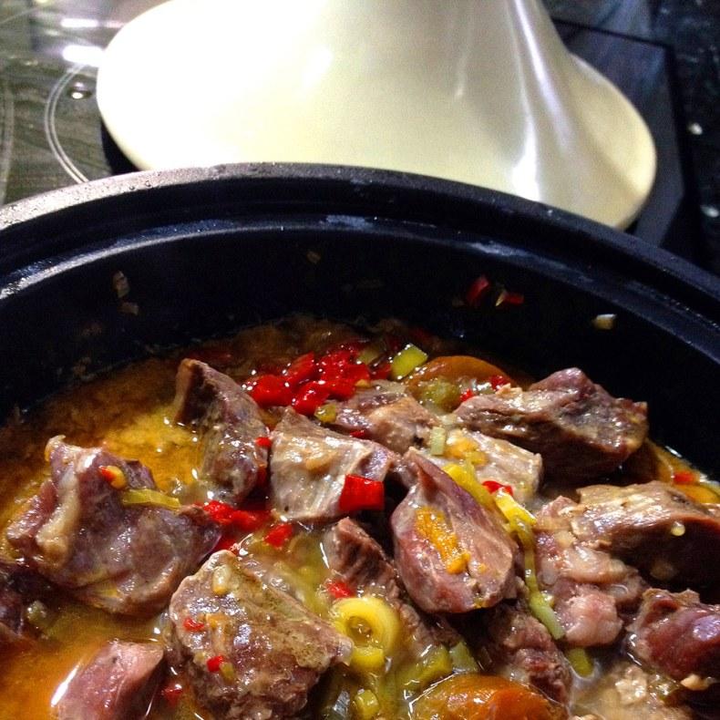 Tagine de carne con ras al hanut