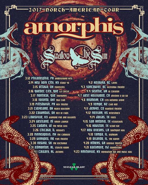 Amorphis at Ottobar