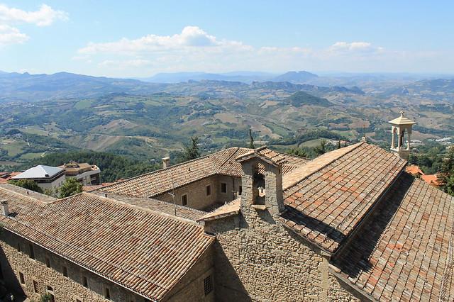 La belleza del paisaje de San Marino