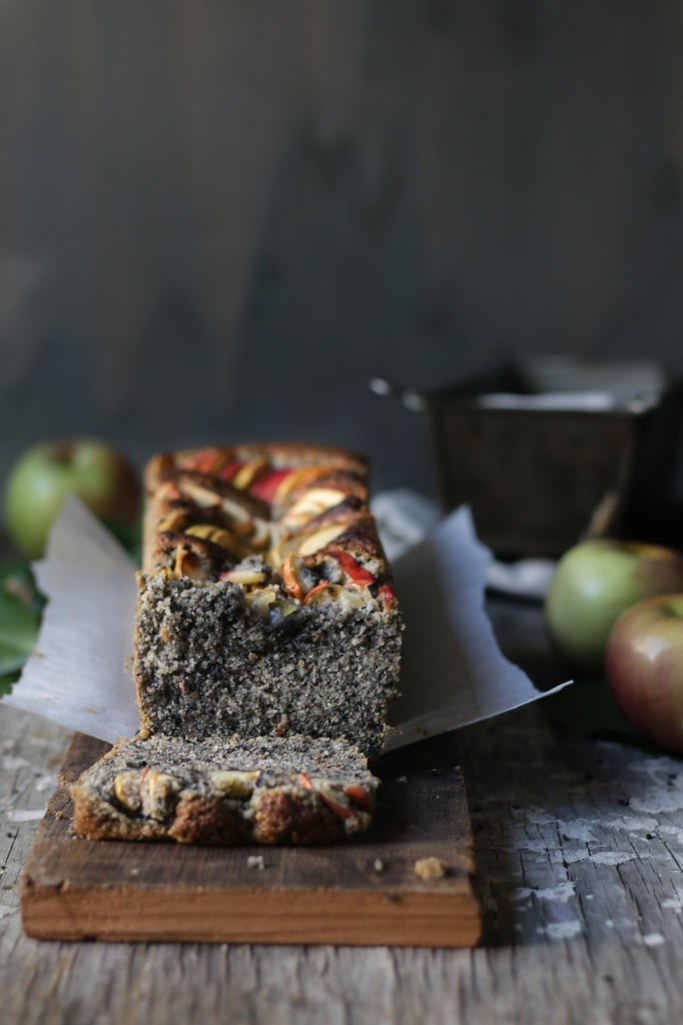SESAME ALMOND APPLE CAKE - 5 cakes for MOTHERS DAY|foodfashionparty|