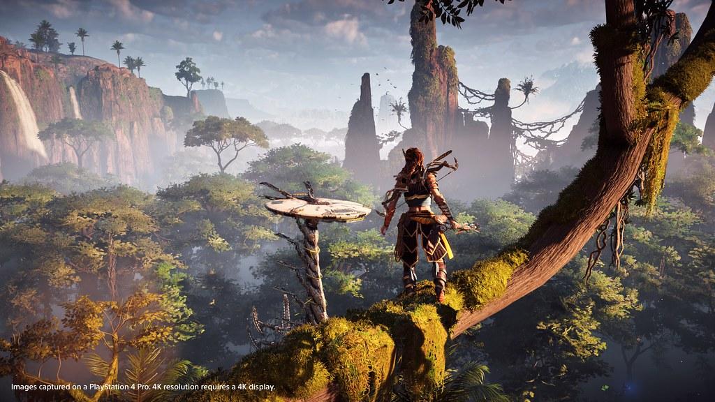 Horizon Zero Dawn PS4 Pro Enhancements Detailed 1