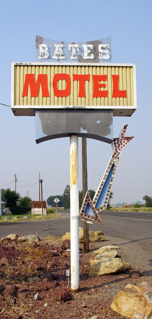Bates Motel - 1101 A Street West, Vale, Oregon U.S.A. - August 23, 2015