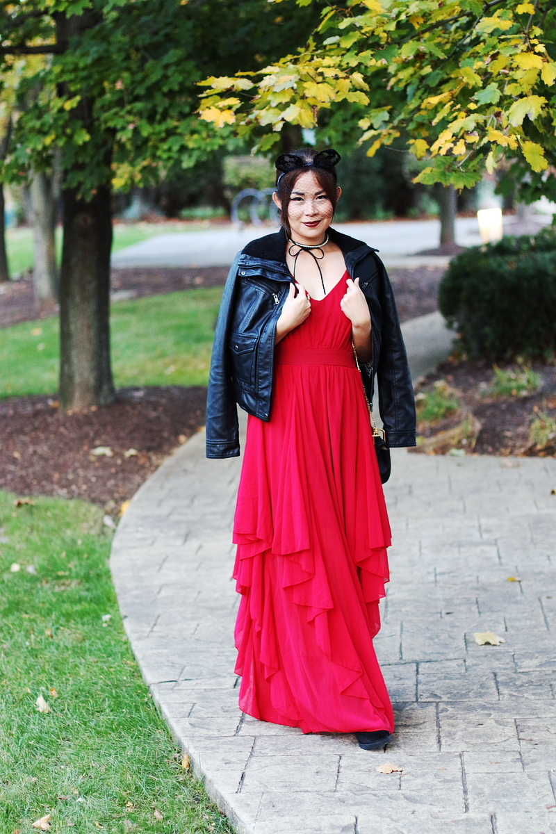 shein-red-maxi-dress-leather-jacket-12