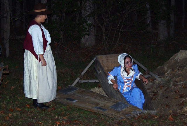 Join us for the darker side of history and culture along the York River at this year's Ghost Trail Hayride