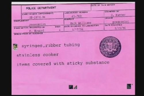 x-files evidence memo
