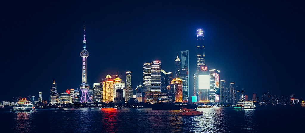 Christmas Wallpaper Hd Shanghai By Night Shanghai Skyline With All Here