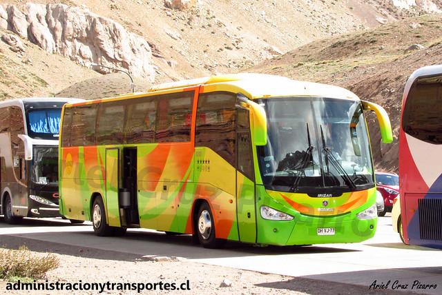 Aries Tour | Paso Los Libertadores | Irizar Century - Scania / DHVJ77