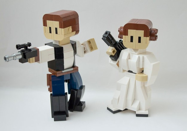 LEGO Star Wars Han Solo and Princess Leia