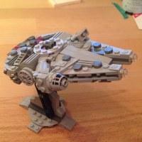 Mini Millennium Falcon Lego | www.imgkid.com - The Image ...