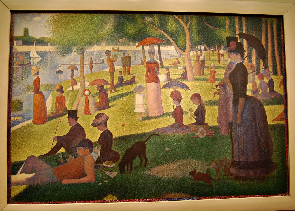 Georges Seurat French 18591891 A Sunday on La Grande J  Flickr