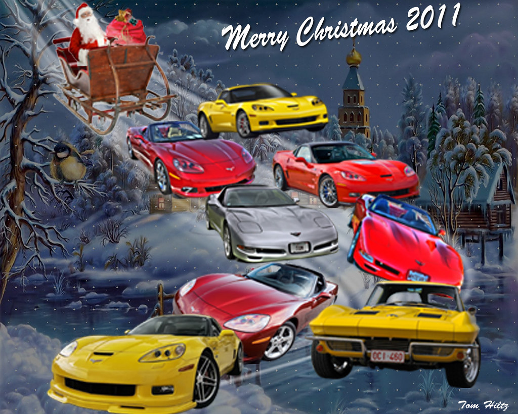 Corvette Christmas Tom Hiltz Flickr