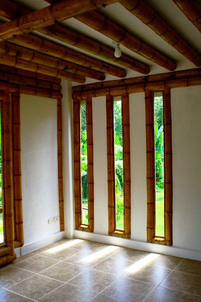Pequeos ventanales con guadua  DISEO Y CONSTRUCCIN