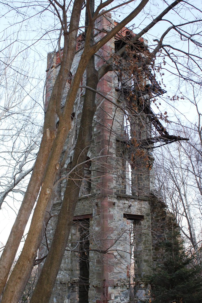 Tower Ruins South Mountain Berks County PA  Ruins of a G  Flickr