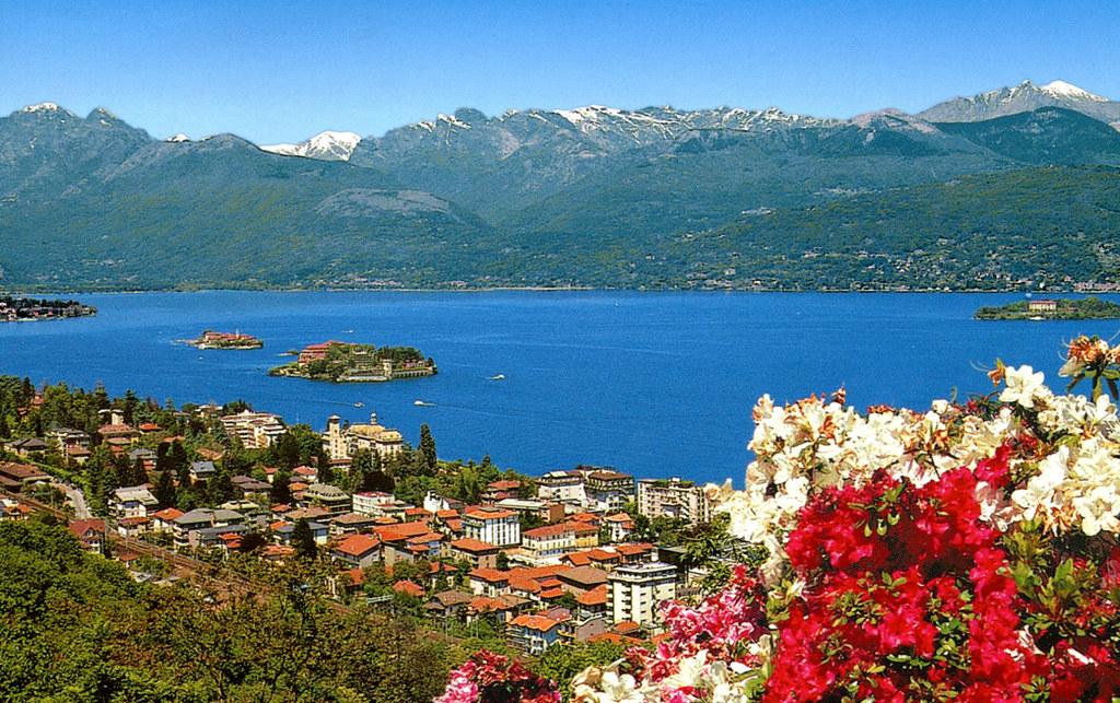 Stresa  Lake Maggiore and Borromean Islands Postcard  Flickr