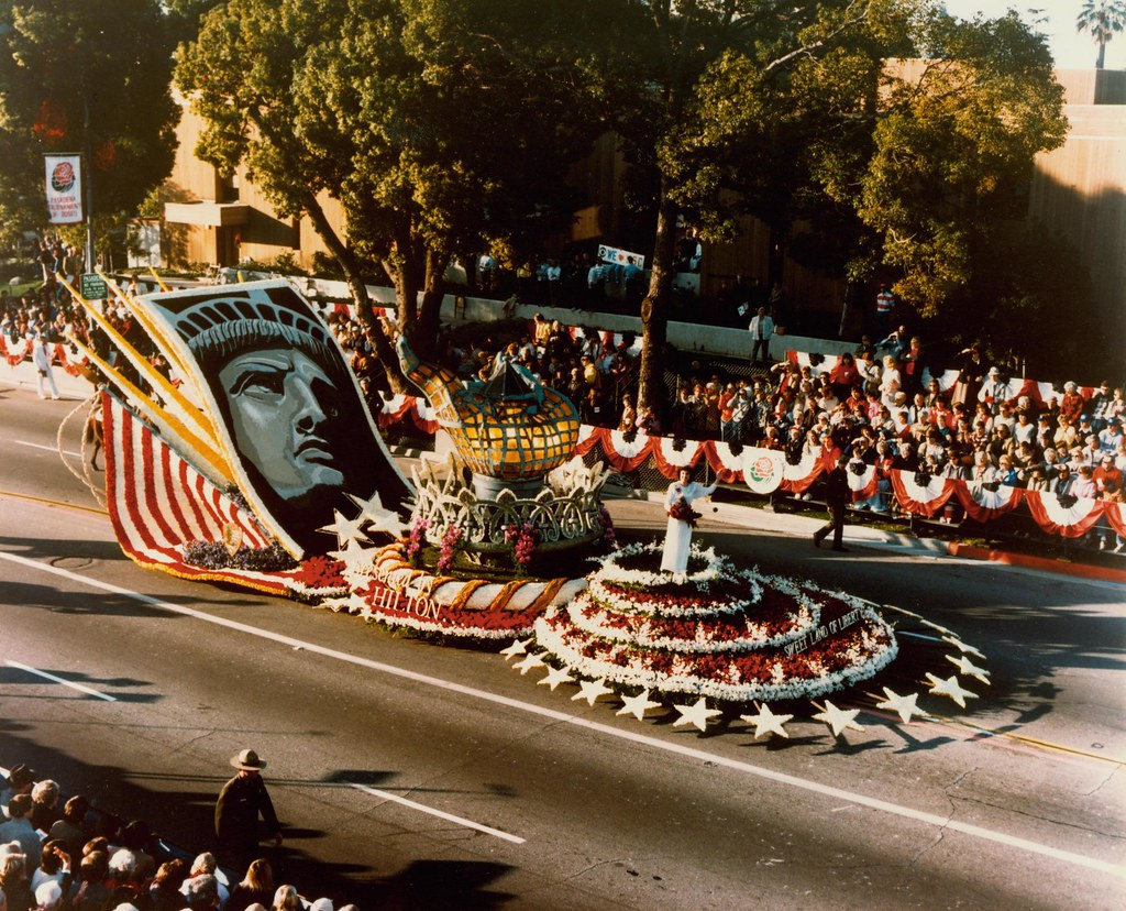 ROSE PARADE  This is a photo of the Orignal Torch from