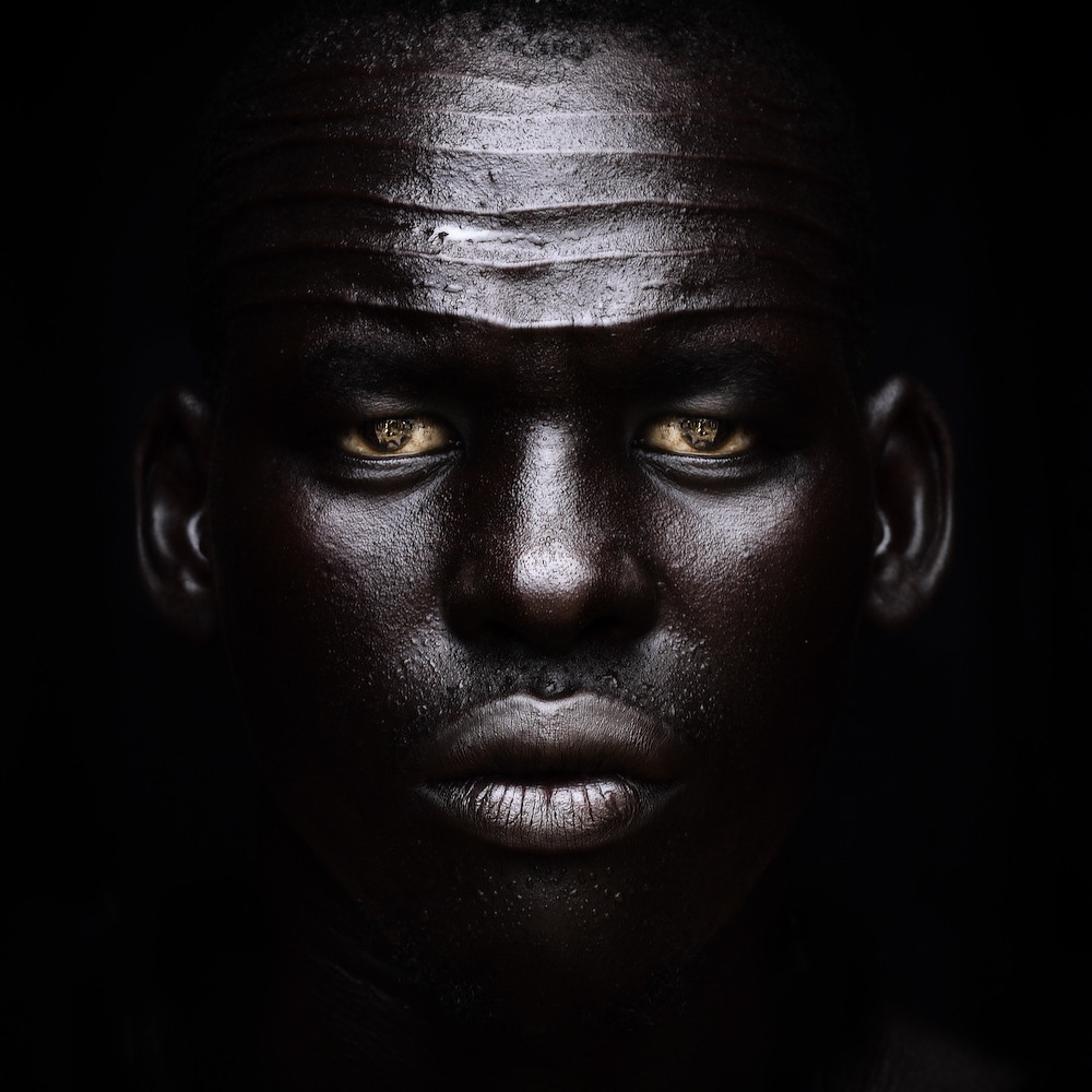 Nuer guy from western sudan  africa  The Nuer are a