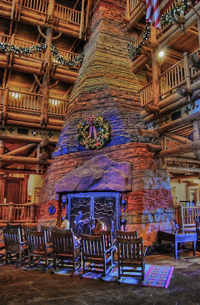 Christmas Time at the Wilderness Lodge Explored  You can  Flickr
