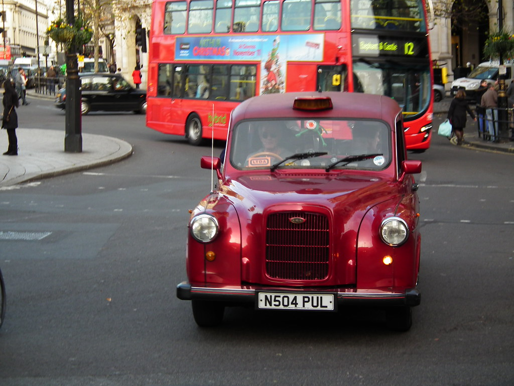 Red London Taxi  1996 Carbodies Taxi  kenjonbro  Flickr