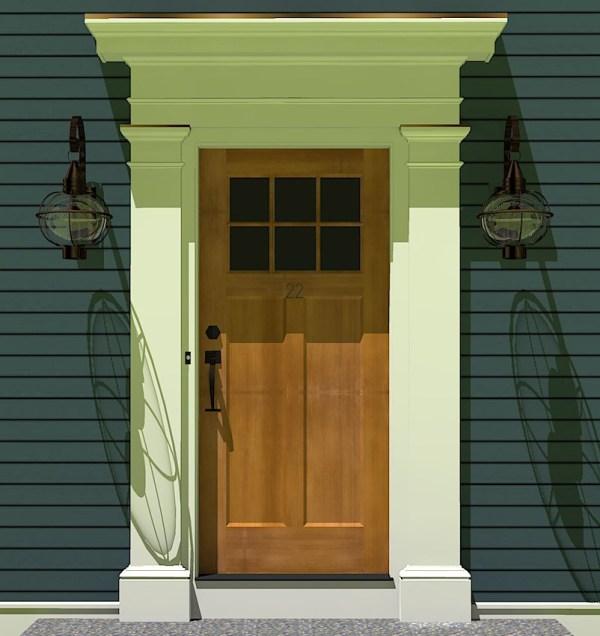 Front Exterior Door Pediments Vtwctr