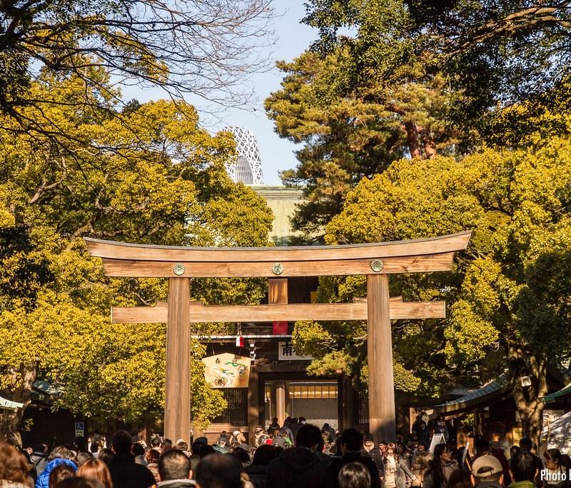 Santuario Meiji en Tokio
