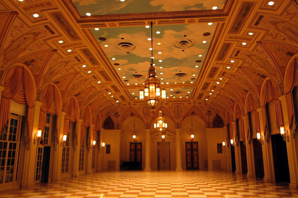 Palm Beach The Breakers Mediterranean Ballroom The