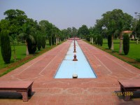 Jinnah's garden fountains, aka Lawrence Park, Lahore, Paki ...