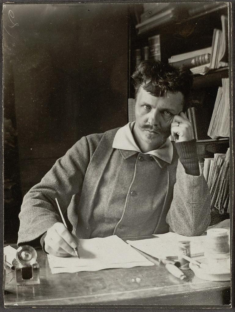 August Strindberg  Swedish author August Strindberg Self